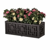 54in. Sofisticato Aluminum Window Box