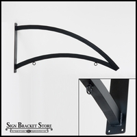 "60"" Custom Heavy Duty Modern Arch Sign Bracket"