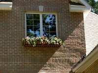 60in. French Window Box On Brick