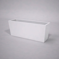 Urban Chic Tapered Premier Composite Commercial Planter 60in.L x 18in.W x 24in.H