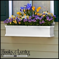 """60"""" Laguna Premier Window Box w/  *Easy Up* Cleat Mounting System"""
