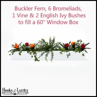 Artificial Fern & Ivy Arrangements for Window Boxes