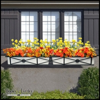 60in. Medallion Decora Window Box w/ (2) Vinyl Liners