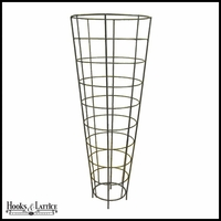 64in. Cone Yard Art Trellis