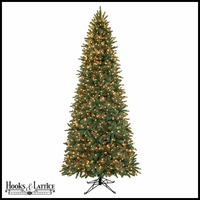 7.5 ft Merrywood Pre-Lit Spruce Artificial Christmas Tree -Clear Lights