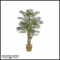 7' Deluxe Reed Palm Tree - Green | Indoor