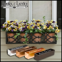 "72"" Baton Rouge Aluminum Window Box"