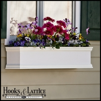 "72"" Direct Mount Laguna Premier Flower Box"