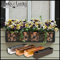 "72"" French Quarter Aluminum Window Box"