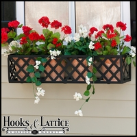 "72"" Lattice Window Box Cage"