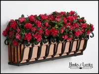 "72"" Pacific Heights Copper Window Box"