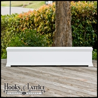 72in. Laguna Premier Deck Planter w/ Feet 12in. W x 12in. H