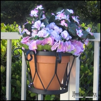 "8"" Del Mar Flower Pot Holder"