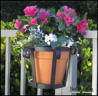 "8"" Venetian Flower Pot Holder"