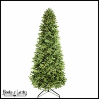 9 ft Blue Pre-Lit Spruce Artificial Christmas Tree w/ Warm White LED Lights