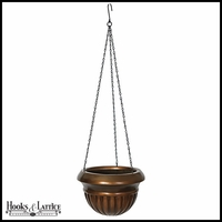 9in. Fiberglass Hanging Basket with Chain