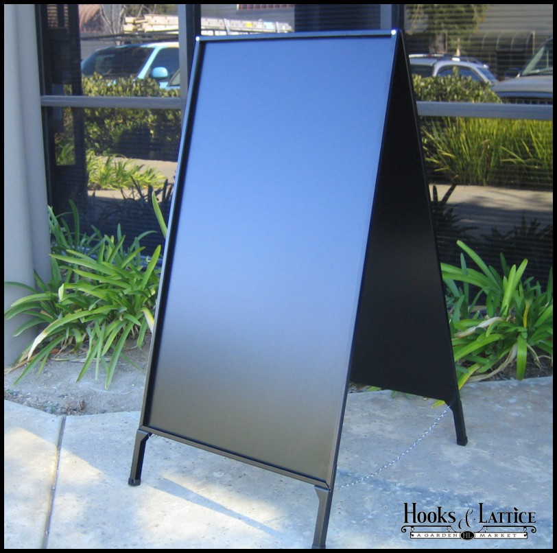 a frame sidewalk signs folding signs