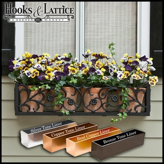 Aluminum Window Boxes