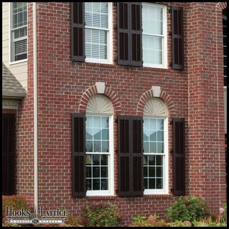 Architectural Louvered Fiberglass Shutters