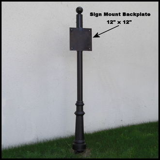 Architectural Sign Posts