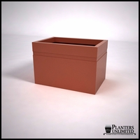 Arroyo Fiberglass Commercial Planter 36in.L x 24in.W x 24in.H