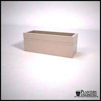 Arroyo Fiberglass Commercial Planter 48in.L x 18in.W x 18in.H