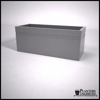 Arroyo Fiberglass Commercial Planter 60in.L x 24in.W x 24in.H