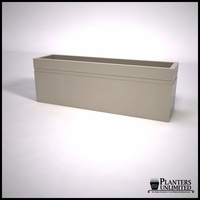 Arroyo Fiberglass Commercial Planter 72in.L x 18in.W x 24in.H