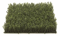 Artificial 3in. Plush Boxwood Mat 20in. Tutone Green - Outdoor Polyblend