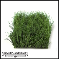 Artificial 6in.H Mexican Grass Mat 10in. Green - Indoor