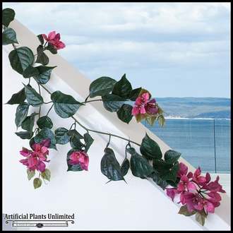 Artificial Bougainvillea Vines for Outdoor Use