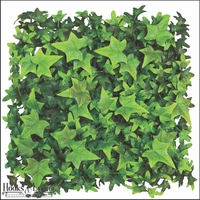 "Artificial English Ivy- 12"" Square Mat <br>Outdoor Rated"
