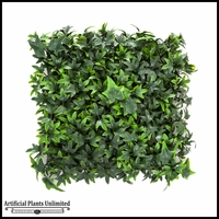 Artificial English Ivy- 12in. Square Mat <br>Outdoor Rated
