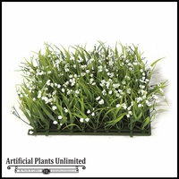 Artificial Gypso Tall Grass Mats 10in. - Indoor