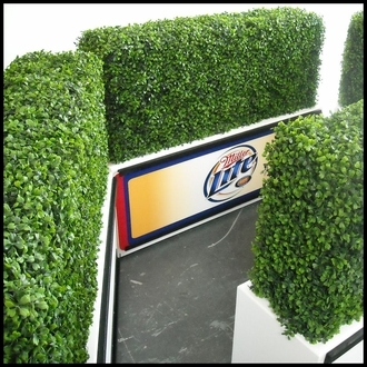 Artificial Hedges - Outdoor Faux Boxwood Hedges