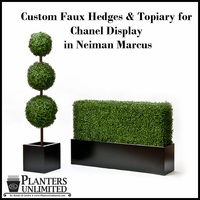 Artificial Hedges- Special Projects, Custom Shapes and Large Sizes