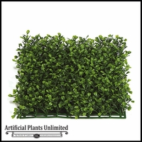 Artificial Indoor Boxwood and Hedge Mat Square Tiles