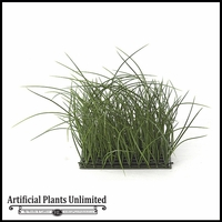 Artificial14in.H Tall Grass Mat 10in. Green - Indoor