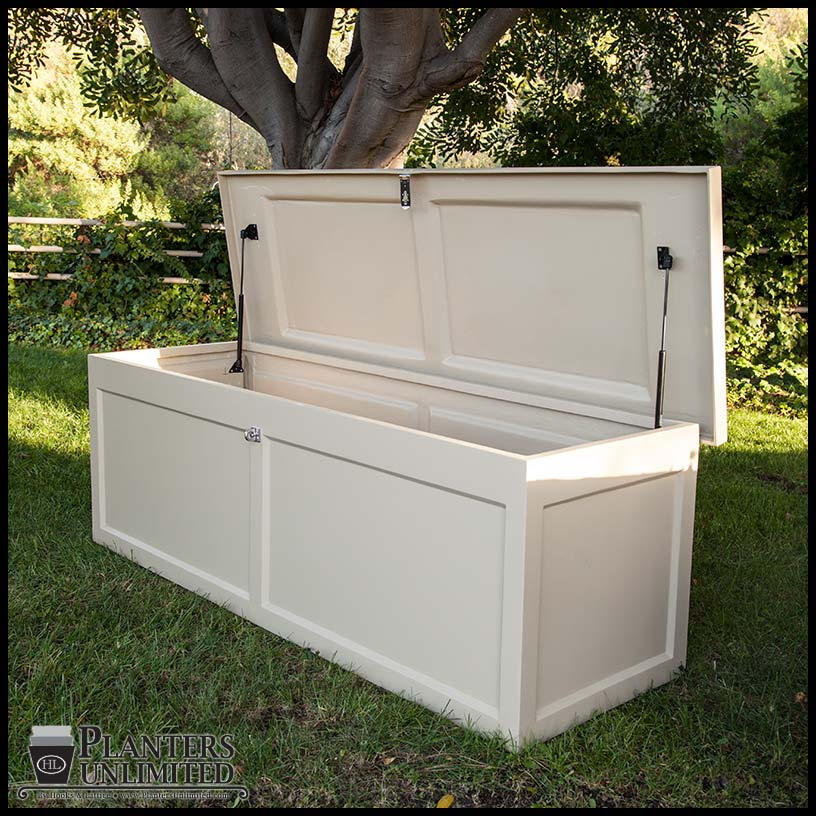Ashville deck box fiberglass dock boxes storage planters unlimited