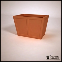 Ashville Tapered Rectangular Planters
