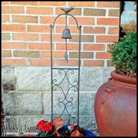 Bird and Bell Trellis