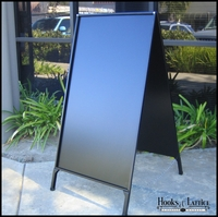 Blank A-Frame Folding Sidewalk Sign -No Panel Insert
