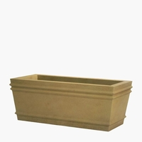 Bordeaux Cast Stone Rectangular Planters