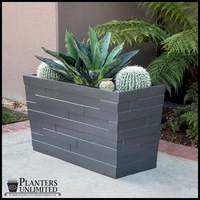 Brockton Tapered Rectangular Planter