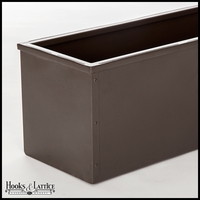 Bronze-Tone Galvanized Window Boxes & Planters