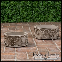 Brookwood Set 2 Planters