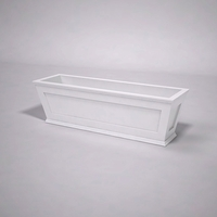 Cape Cod Tapered Commercial Planter 60in.L x 18in.W x 18in.H
