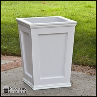 Cape Cod Tapered Commercial Planter 36in.L x 36in.W x 18in.H