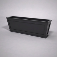 Cape Cod Tapered Commercial Planter 72in.L x 18in.W x 24in.H