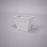 Cape Cod Tapered Commercial Planter 24in.L x 18in.W x 18in.H
